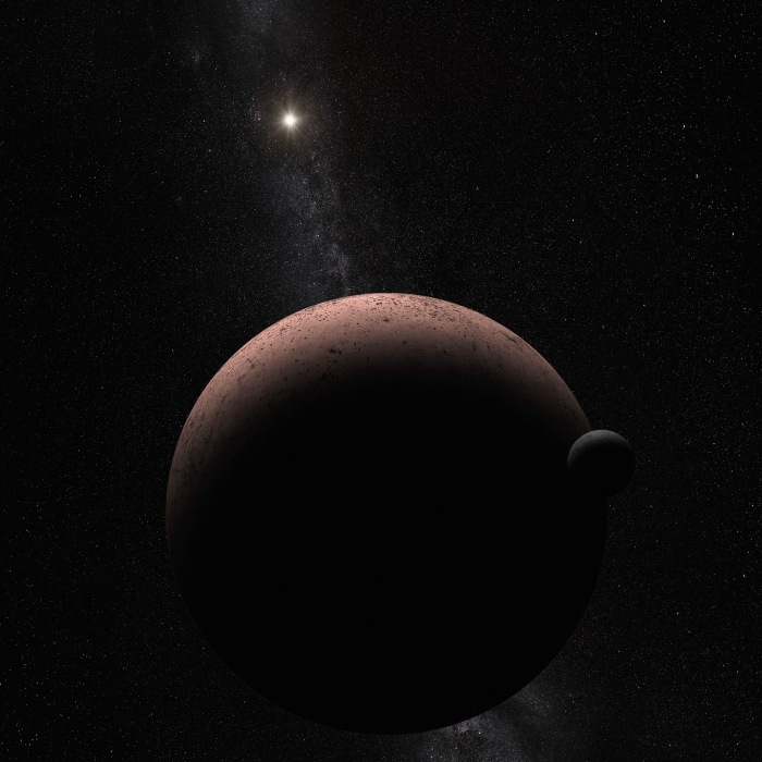 Hubble Discovers Moon Orbiting the Dwarf PlanetMakemake