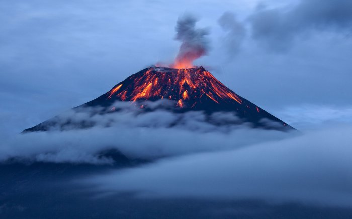 Volcanoes Tied to Shifts in Earth's Climate Over Millions ofYears