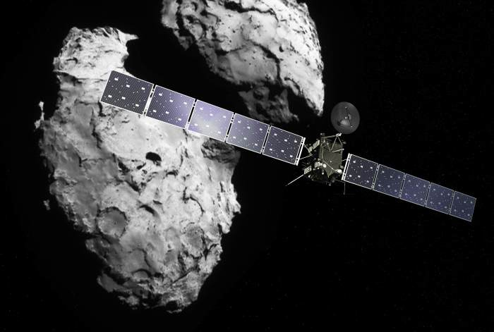 Rosetta's Comet Contains Ingredients of Life